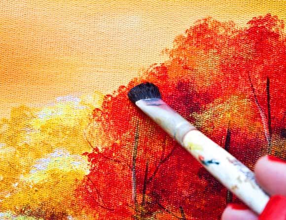 Aprenda a preparar uma tela para pintura michellangello - Como pintar sobre tela ...