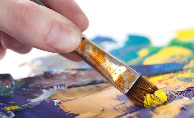 Tecnicas pintura em tela
